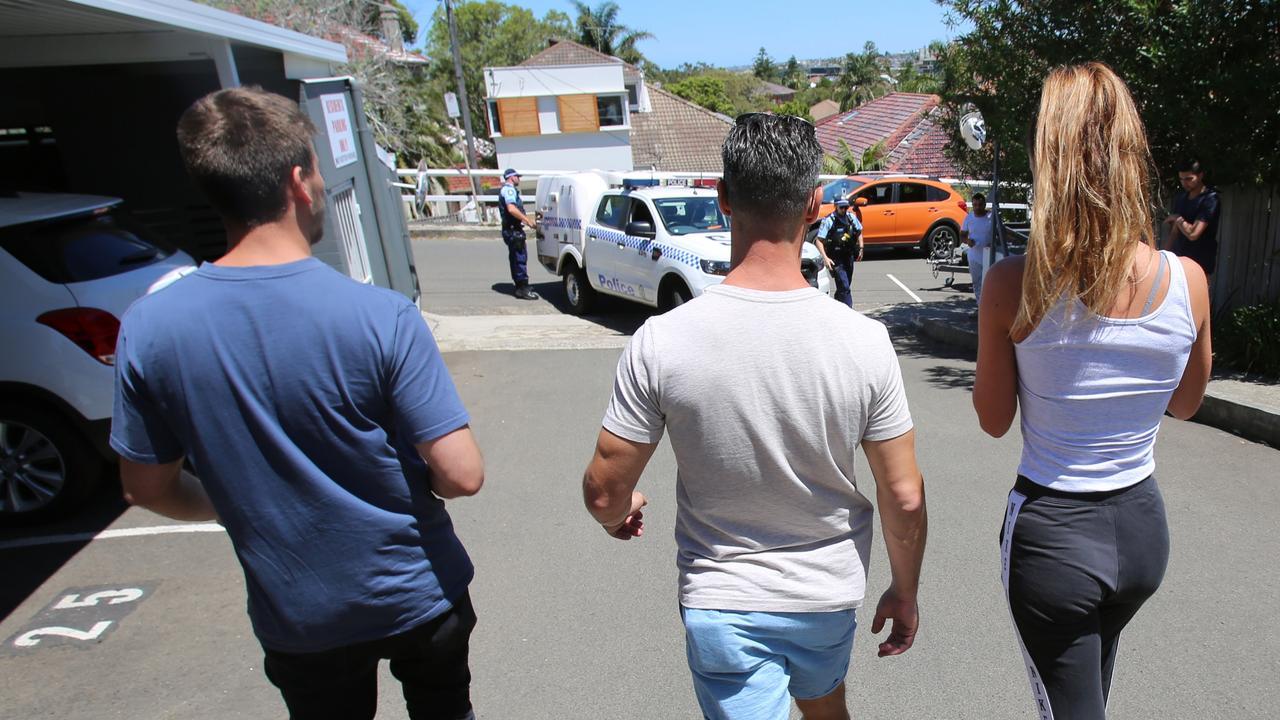Danielle Hogan's arrest on Thursday. Picture: NSW Police