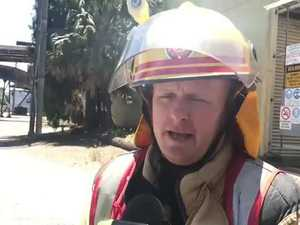 Firefighters speak about Marian fire