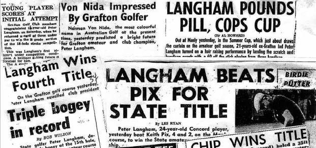 News headlines on Peter Langham and his illustrious career.