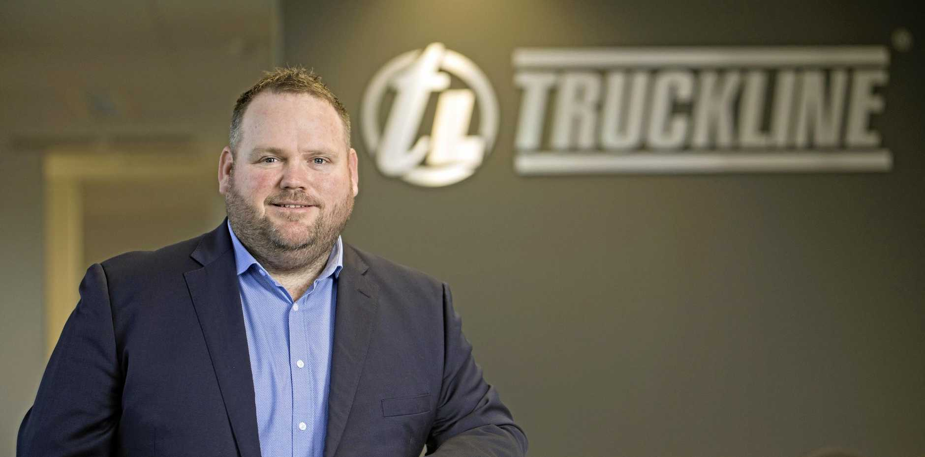 FUTURE BRIGHT: Truckline general manager Martin Hinkley is looking forward to the opportunities with Bapcor.