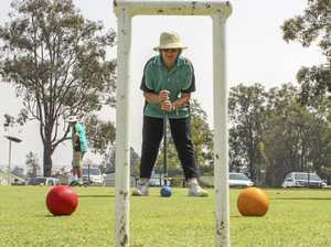 Convince grandma to play croquet - win a cash prize