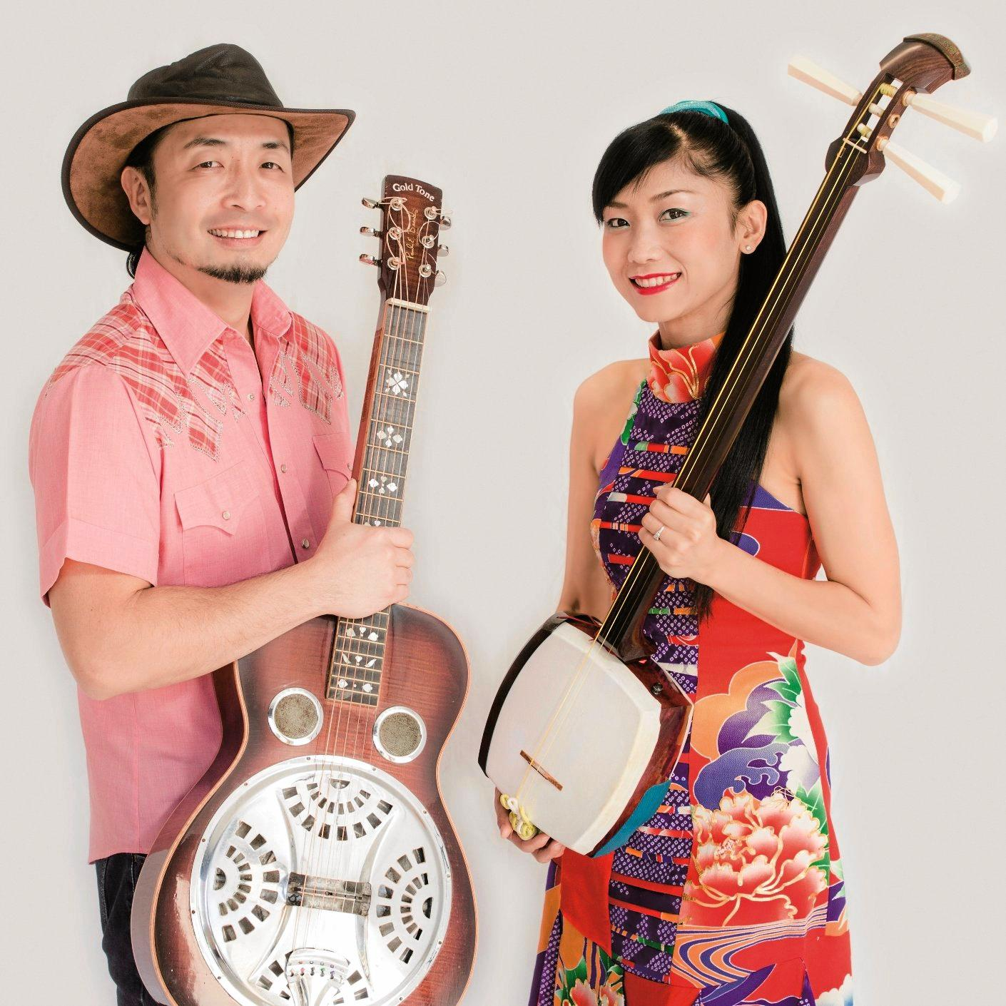 SHOWING THE WAY: George and Noriko will be on stage as part of  Kids in the Big Top .