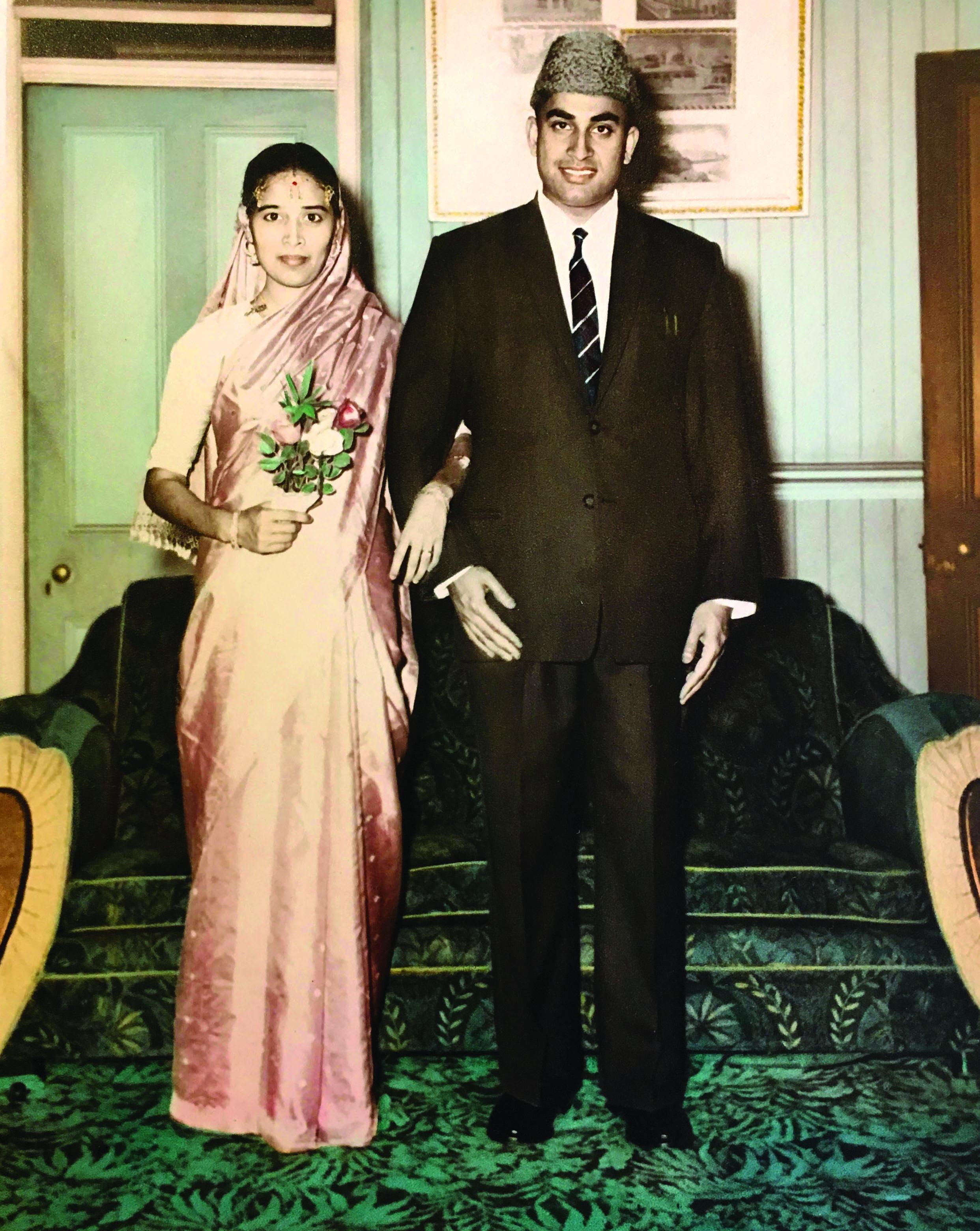 Haji Bashir Mohammed Deen and his wife Jainul Nisha