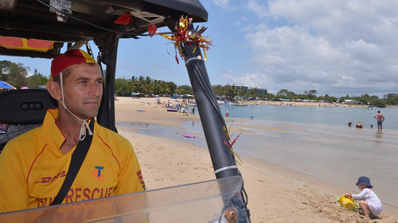 Maroochydore surf lifesaver volunteer Robin Smith was the first responder when Bryce Johns had a cardiac arrest at Cotton Tree.