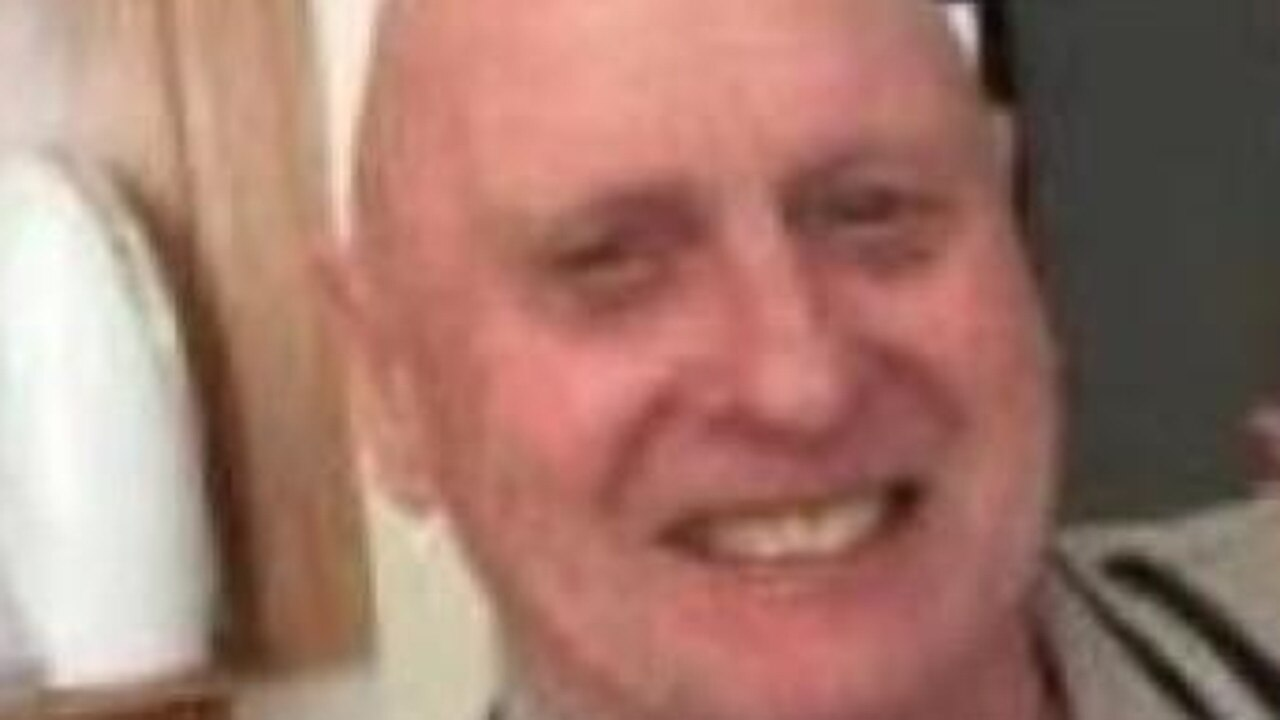 Police are looking for missing man Clive Rolph.