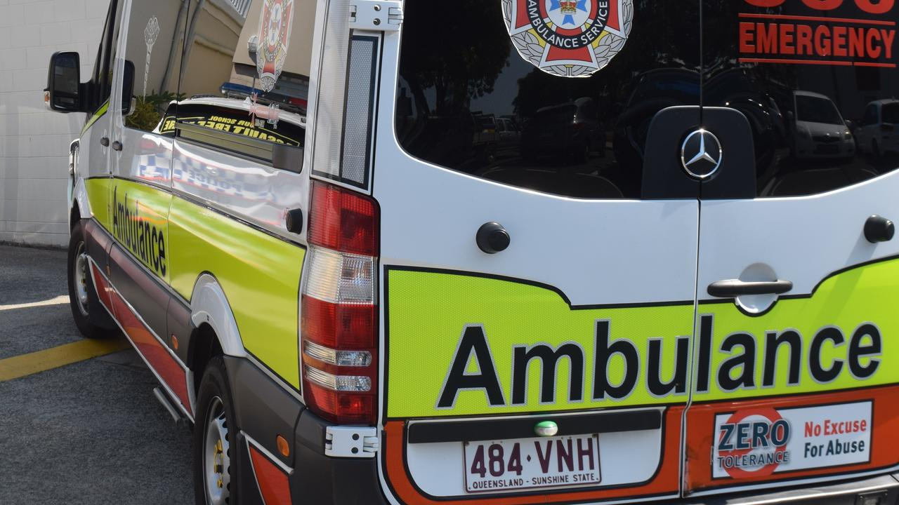 A woman was taken to Rockhampton Hospital on Friday morning after a reported snake bite at The Caves.