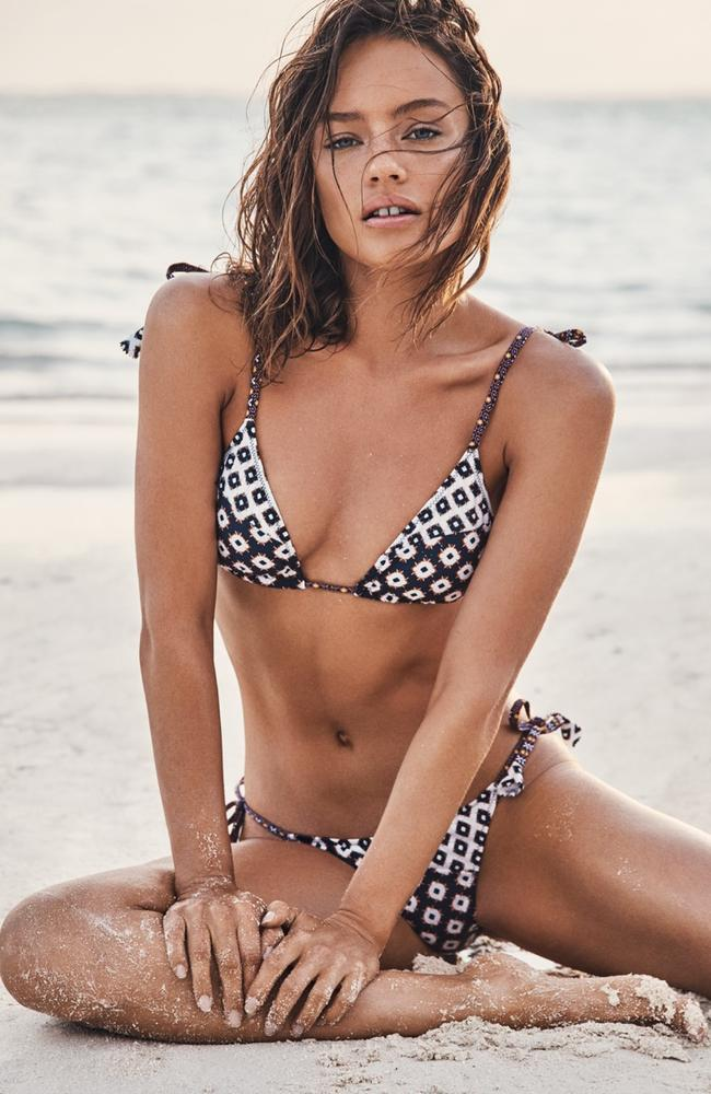 But it's all part of the brand's bold new move to shift focus from its iconic swimwear range, and more onto apparel which accounts for 80 per cent of its sales.