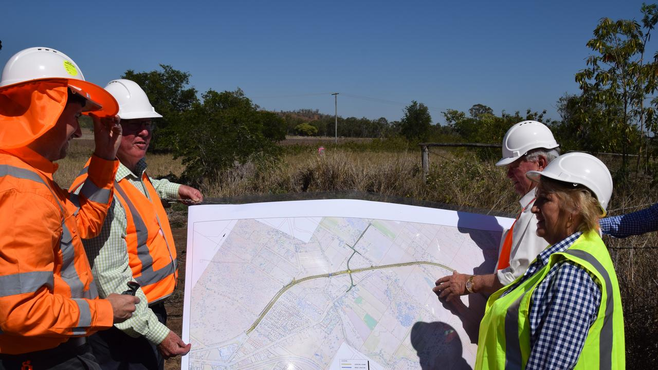 ROAD UPGRADE: Years of hard work from Capricornia MP Michelle Landry, Flynn MP Ken O'Dowd and Rockhampton MP Barry O'Rourke has culminated in sod finally being turned at the site of the Capricorn Highway duplication between Rockhampton and Yeppoon.
