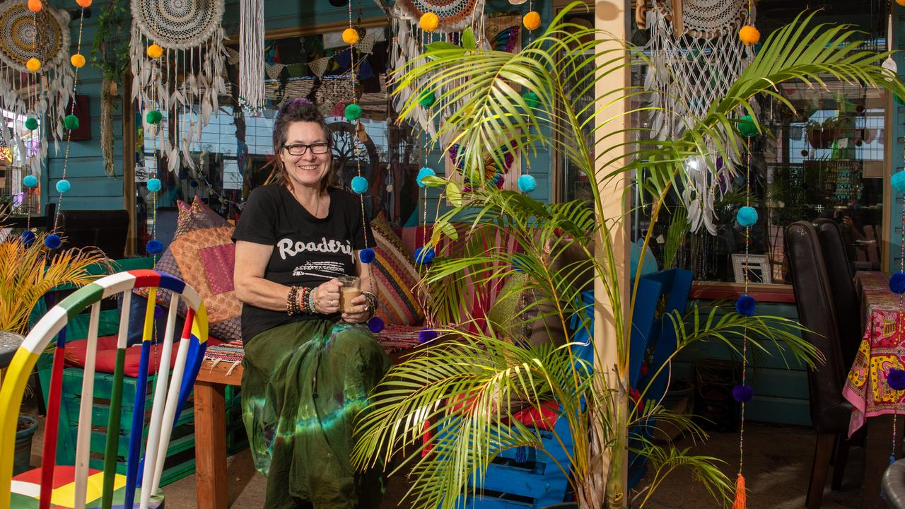 HIPPY VIBES: Meaning to Stop shop owner Catherine Kelso.