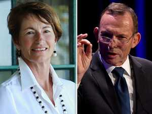 Why Abbott's wife missed his big night