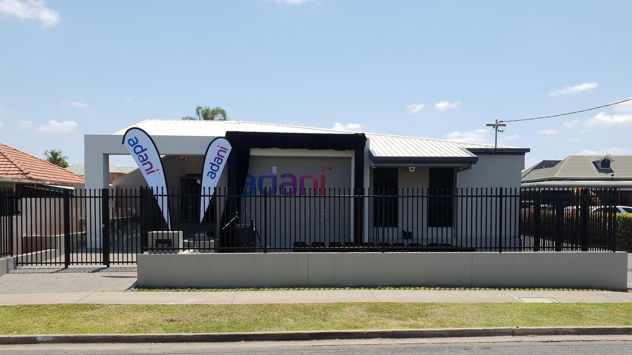 BUSINESS CENTRE: View of the Adani Australia's Rockhampton office, which officially opened on October 19.