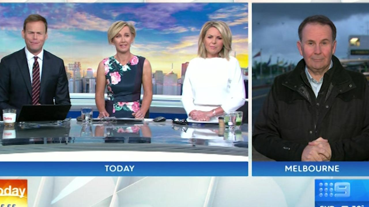 It's all happy families at Channel 9's Today show.