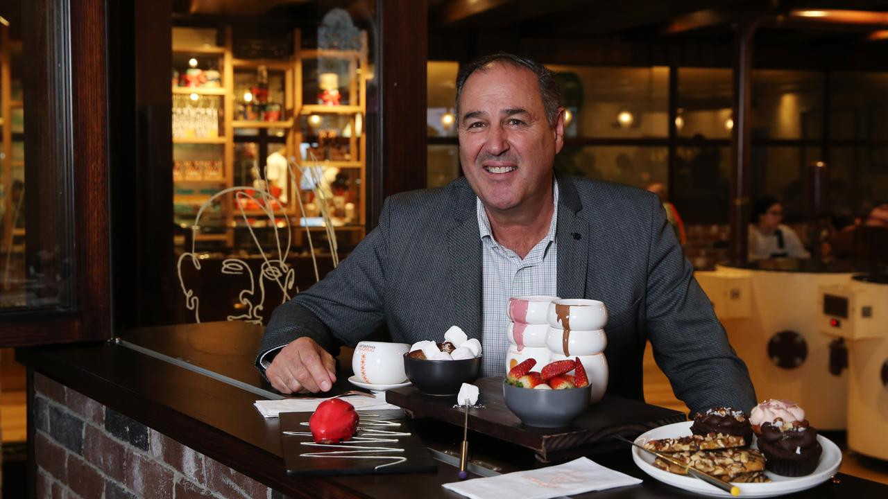 Developer and AFR rich-lister Arnold Vitocco has revived and expanded the Max Brenner chocolate and cafe brand. Picture: Jane Dempster