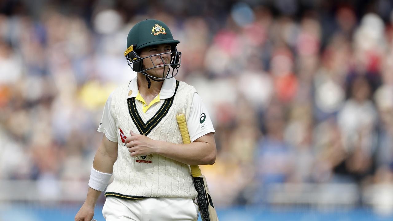 Marcus Harris had some well documented struggles during the Ashes series. Picture: Getty