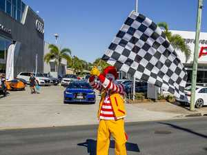 Police: Get a permit next time, Ronald