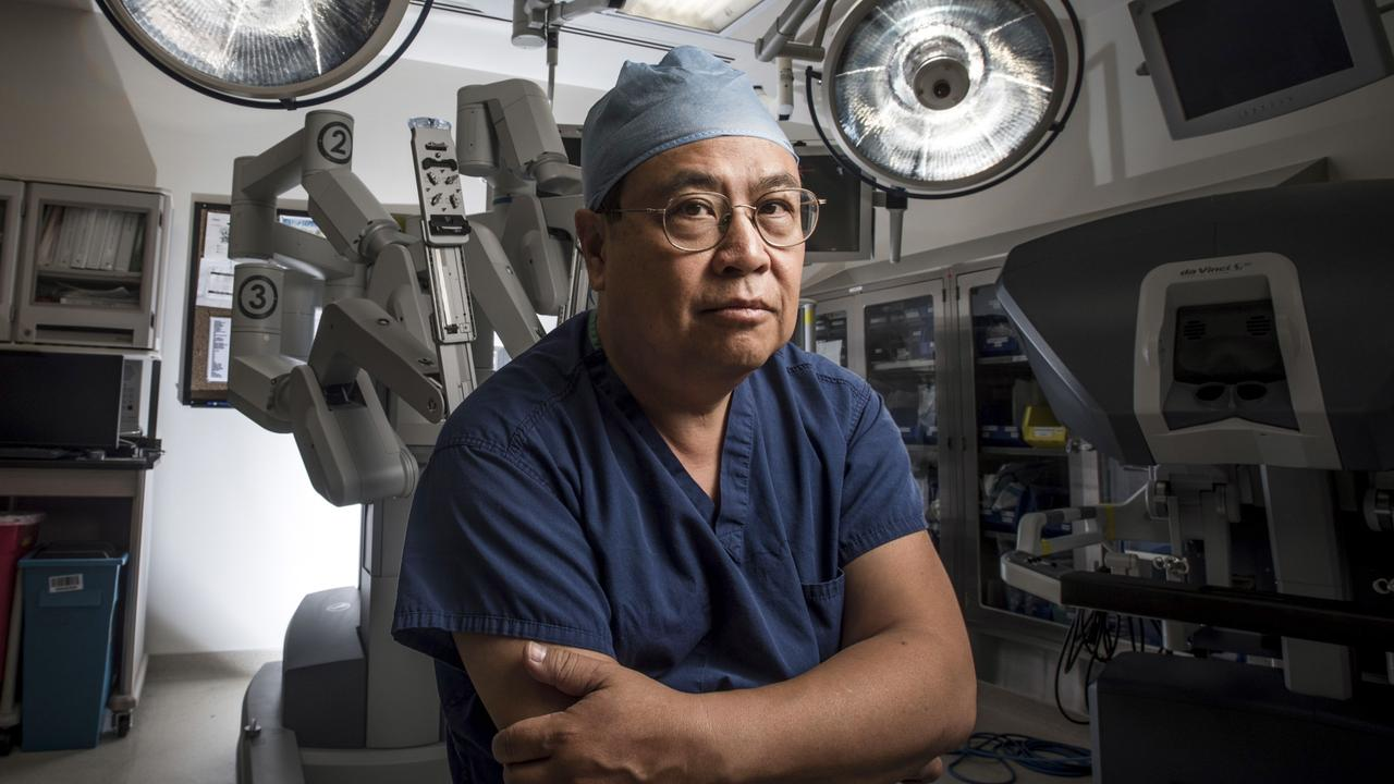 Professor Yuman Fong who has engineered a virus based on cowpox that can kill cancer. Picture: Supplied