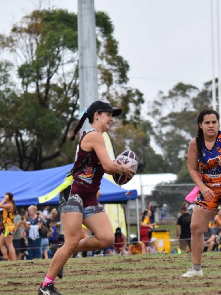Ashleigh Goodwin will represent the Indigenous Australian side at the Oztag Oceania Cup. Picture: Contributed