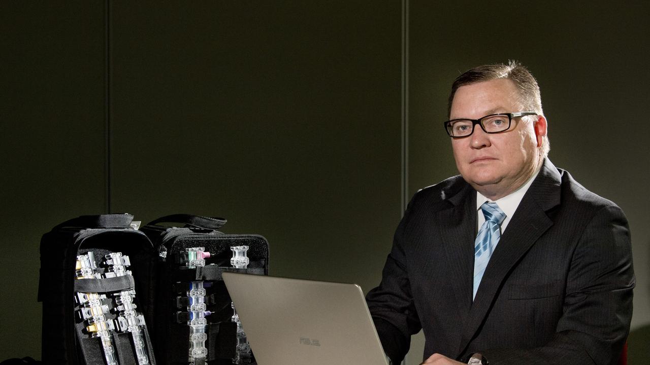 Interceptor Australia director and lead investigator Brad Browning. Picture: Nev Madsen.
