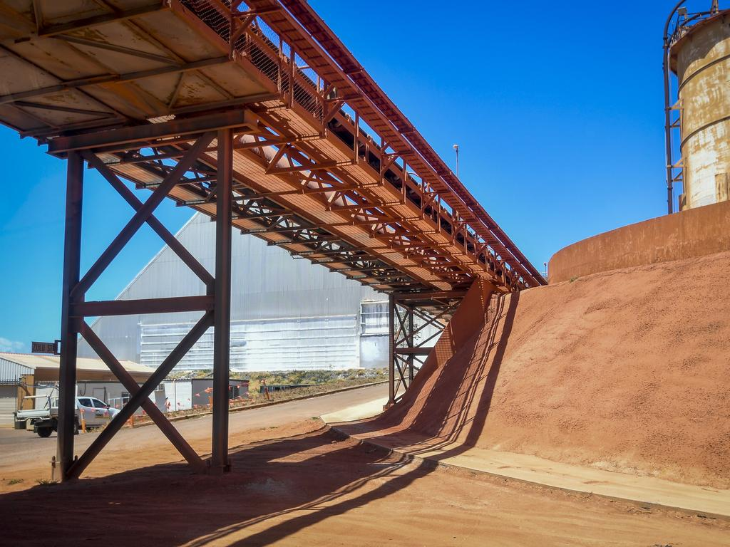 Stock photo of Queensland Alumina Limited (QAL), Gladstone.