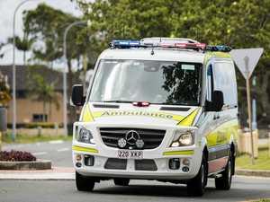 Man injured after two-car smash on major road