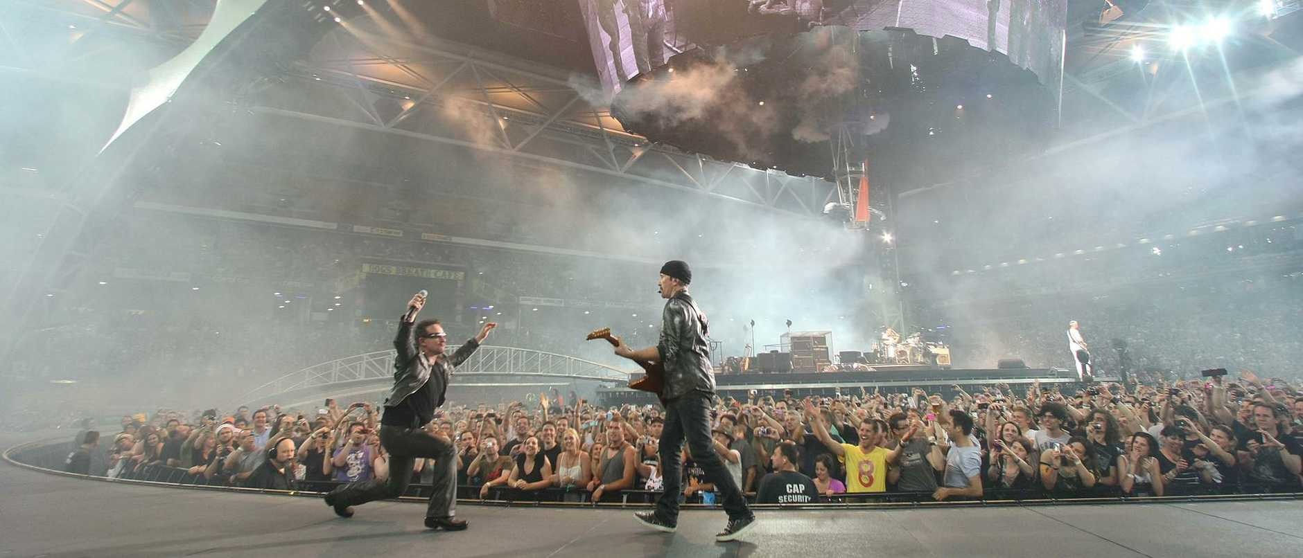 U2 set an astonishing new standard with their 360° tour at Suncorp Stadium in 2010