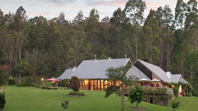 Mandalong Sanctuary owned by Mr Jerabek and his wife Gina Burn-Jerabek where he had an alleged overdose.