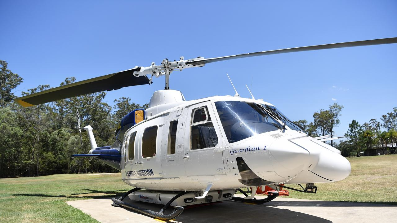 McDermott Aviation has named their new chopper Guardian 1. Photo Patrick Woods