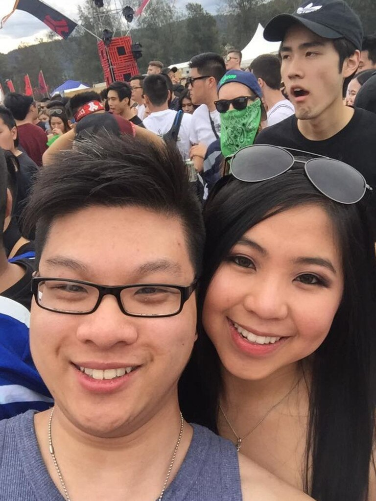Joseph Pham pictured with Jasmine Duong. Picture: Facebook