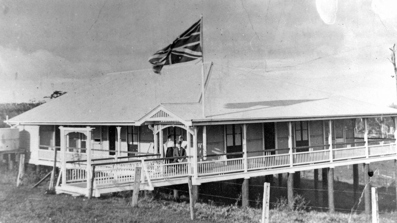 Maleny Soldiers Memorial Hospital in Bean Street, 1920. Picture: Contributed