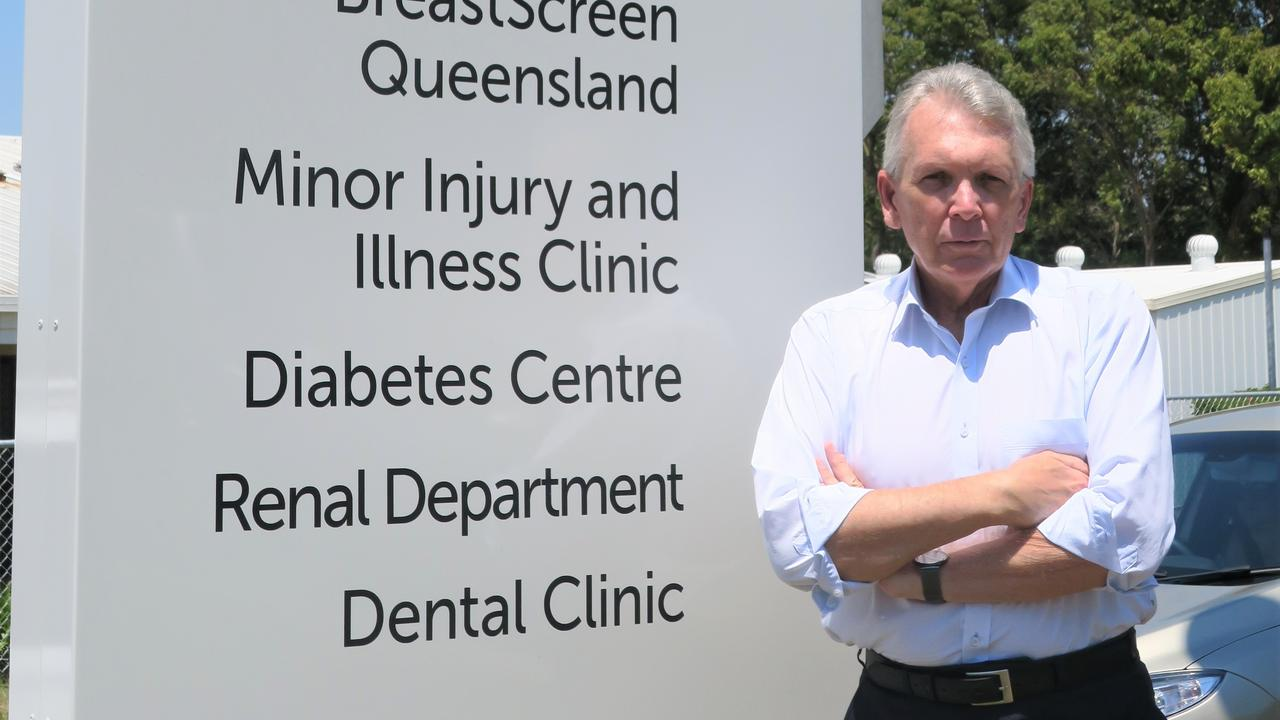 HOSPITAL HELP: Mark McArdle has requested a meeting with the team developing the Sunshine Coast Master Clinical Service Plan to discuss the future health needs of Caloundra, including expanding the services and hours of operation at the Minor Injury and Illness Centre at Caloundra Hospital. Photo: Contributed