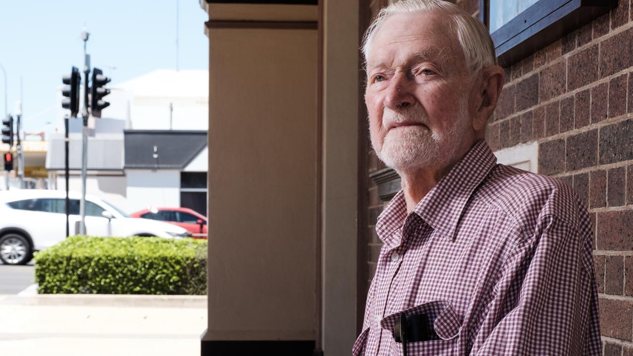 Owen Benn, 99-year-old World War II veteran. 08/11/19