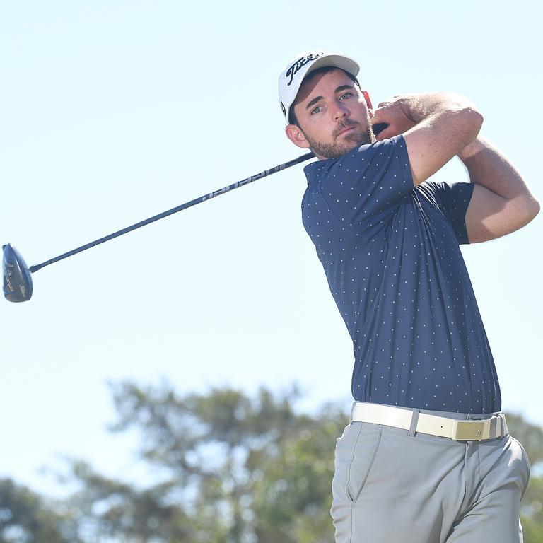 Gympie's pro golfer Charlie Dann.