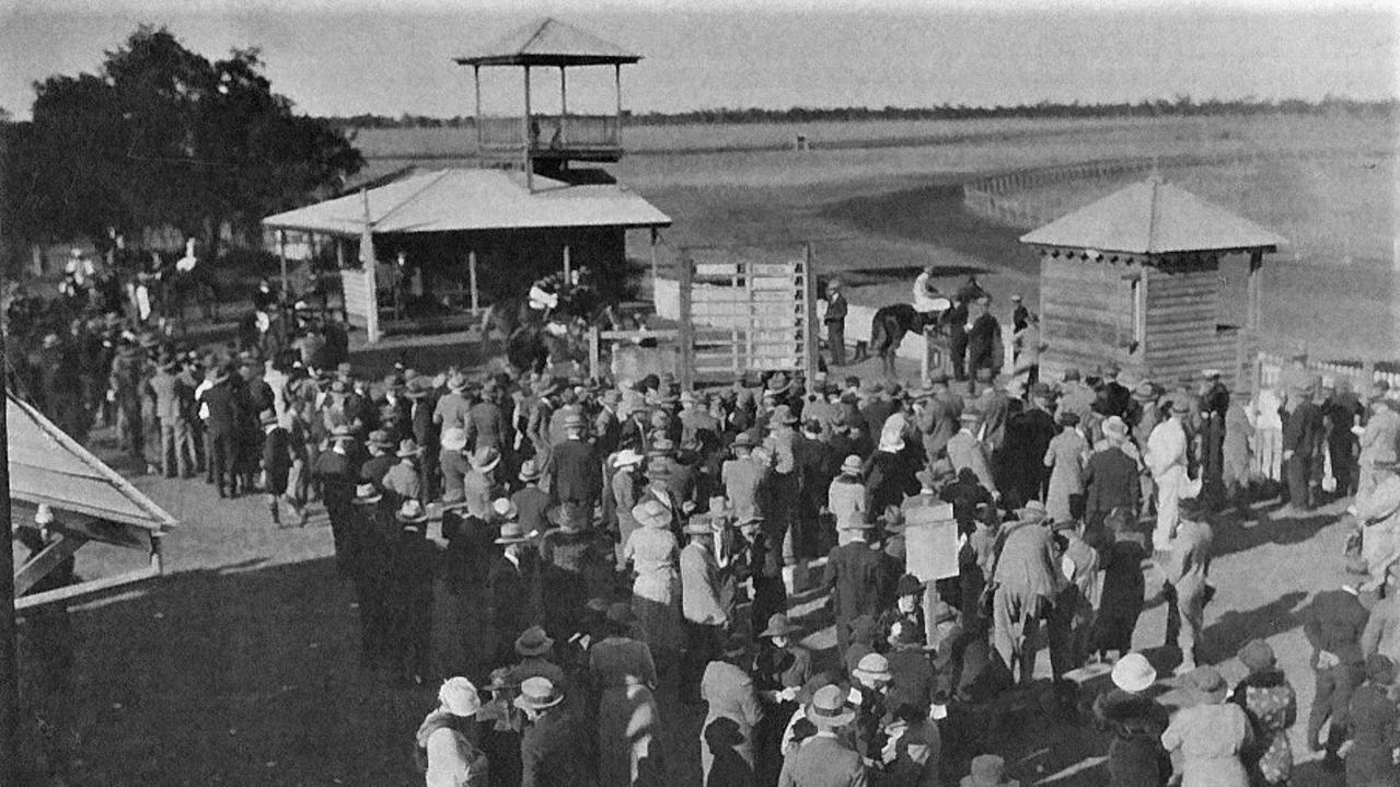 Dalby has a long history of horse racing. This picture is of the Dalby Race Track in the 1930s. Picture: Joy Shields.