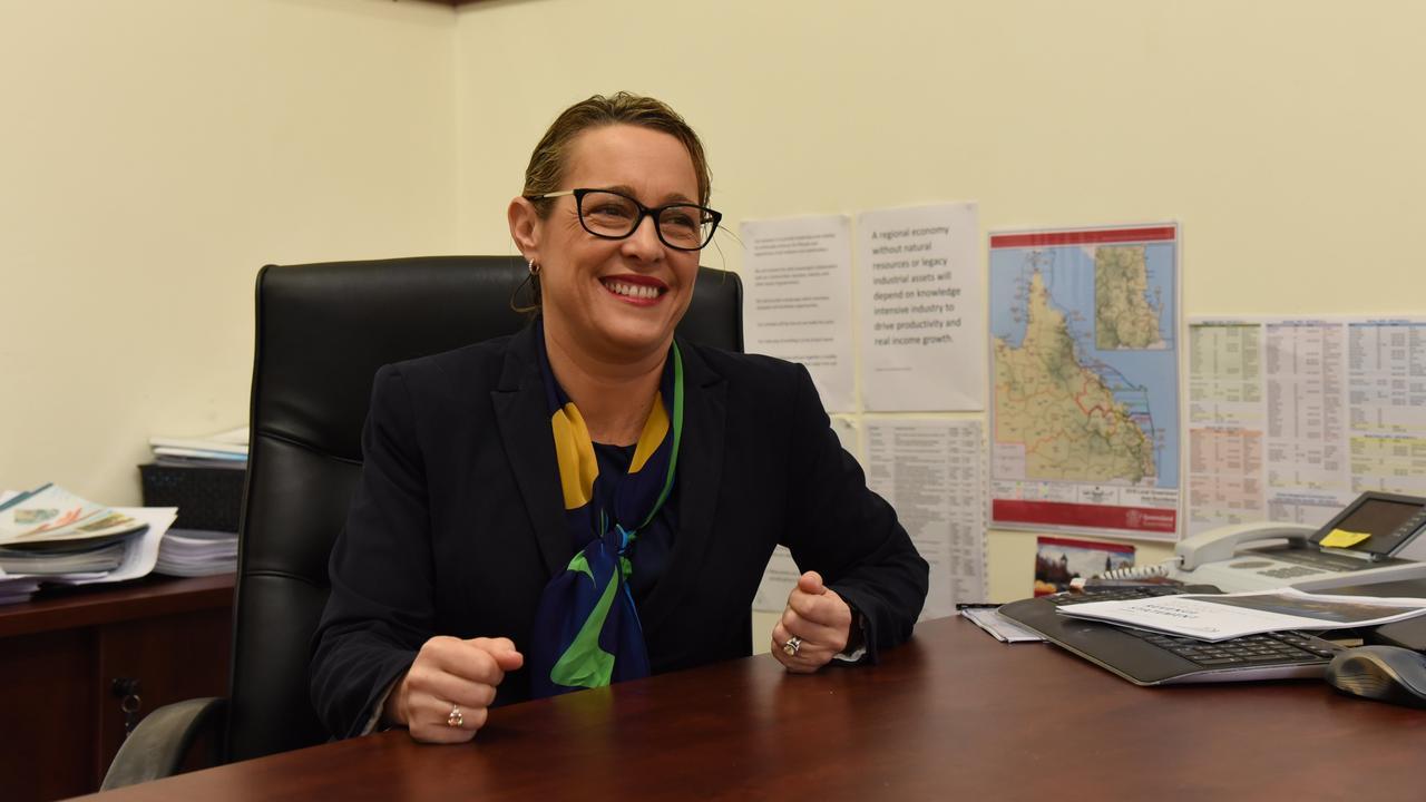 LAST YEAR'S PROGRESS: North Burnett Regional Council Mayor Rachel Chambers. Credit: Alex Treacy.