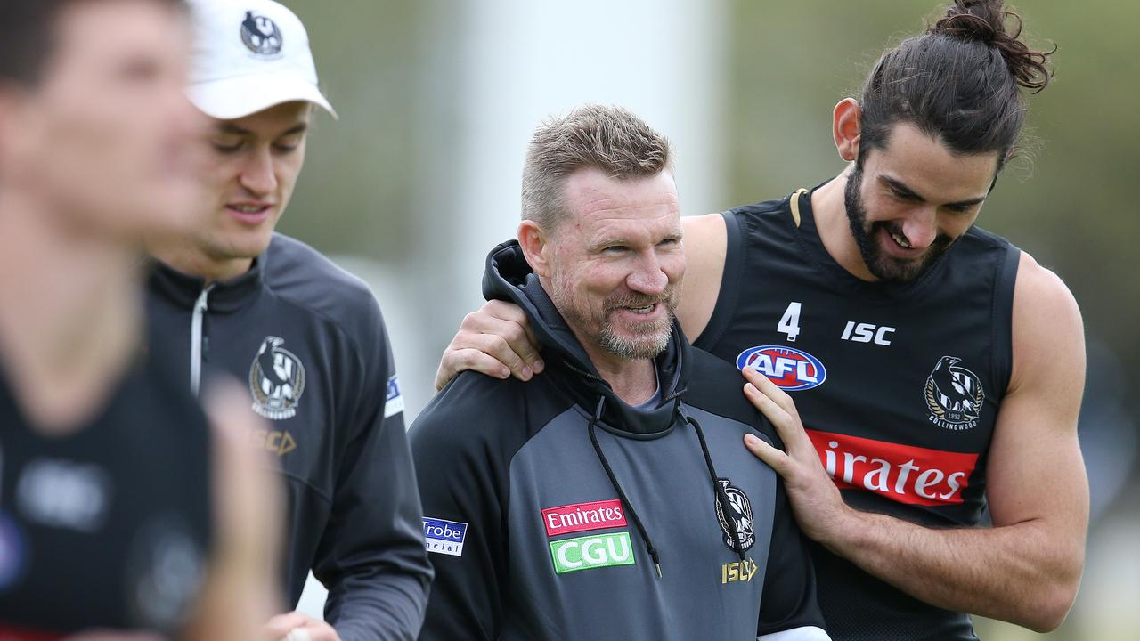 Grundy remains one of Nathan Buckley's biggest weapons. Pic: Michael Klein