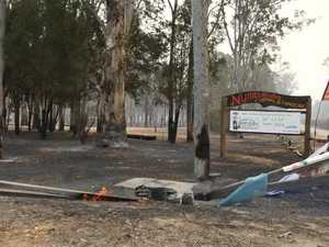 Fireys, community members firght Nymboida fires