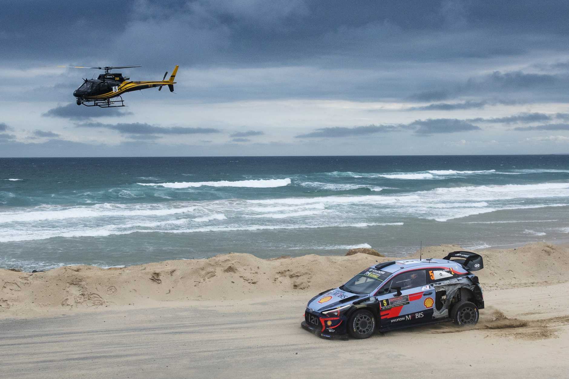 The World Rally Championship's best drivers are headed Down Under this month.