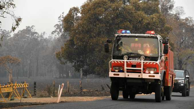 CLOSURES: Roads, parks and services closed due to fire