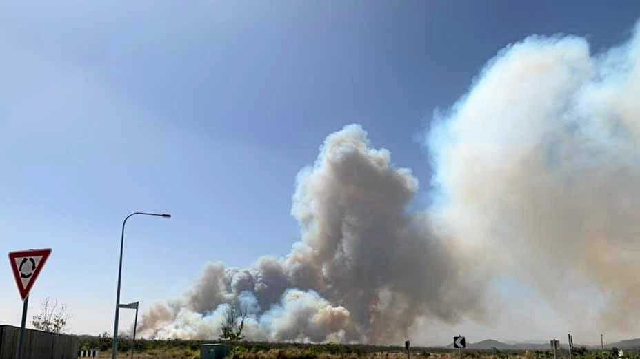 BUSHFIRE PLUME: State of fire emergency declared as fires races across the state.