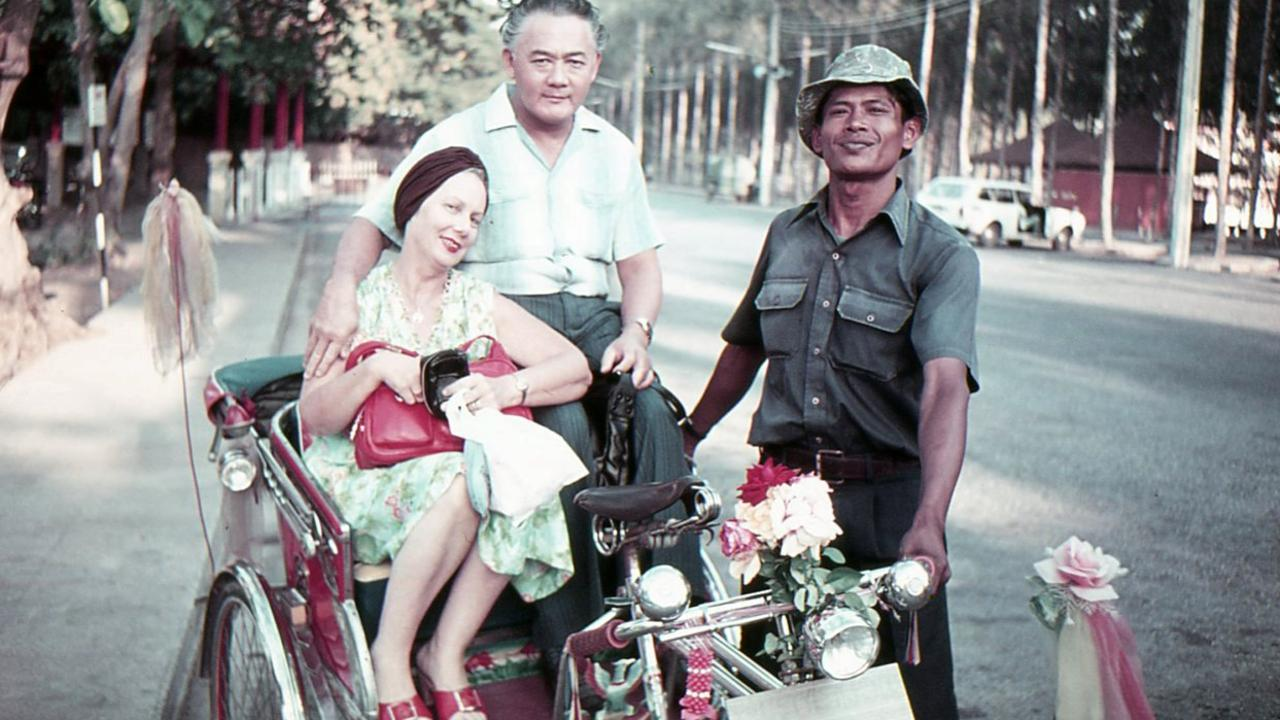 Lorna and Leonard Sue-Tin on holiday in Hong Kong in 1960s.