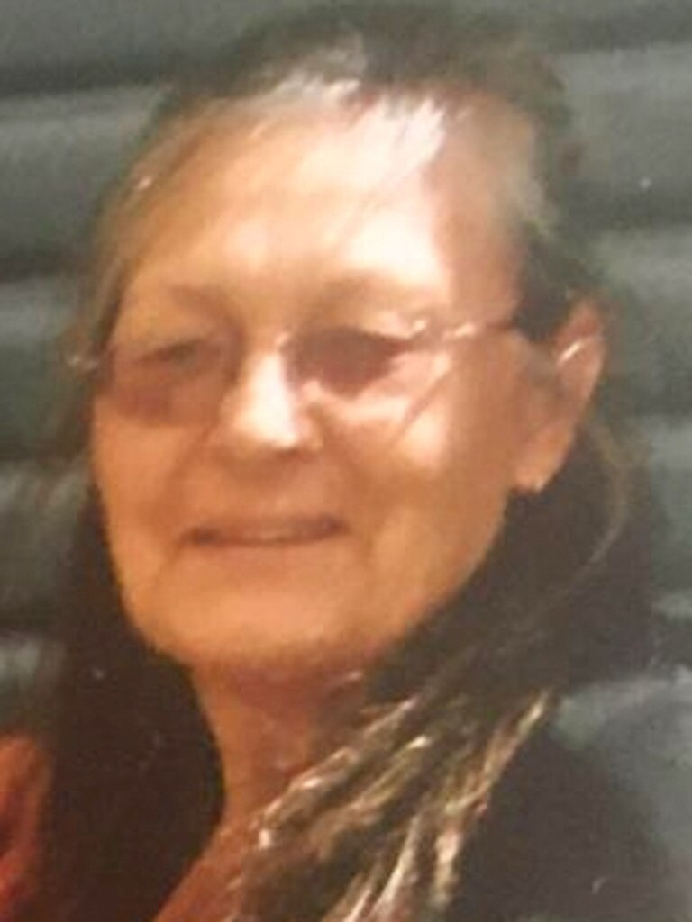 Vivian Chaplain, 69, died after a bushfire swept through Wytaliba. Picture: Supplied