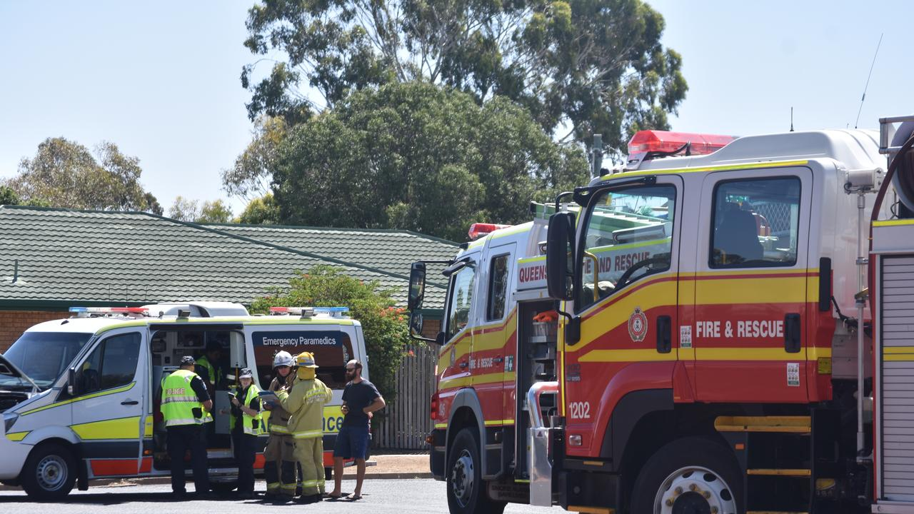 CRASH: A car and an ambulance have collided on Cunningham St this afternoon.