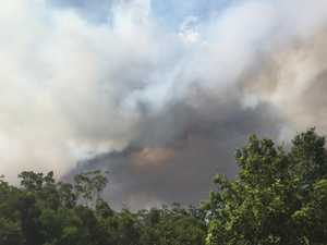 Fire threat is far from over for Noosa