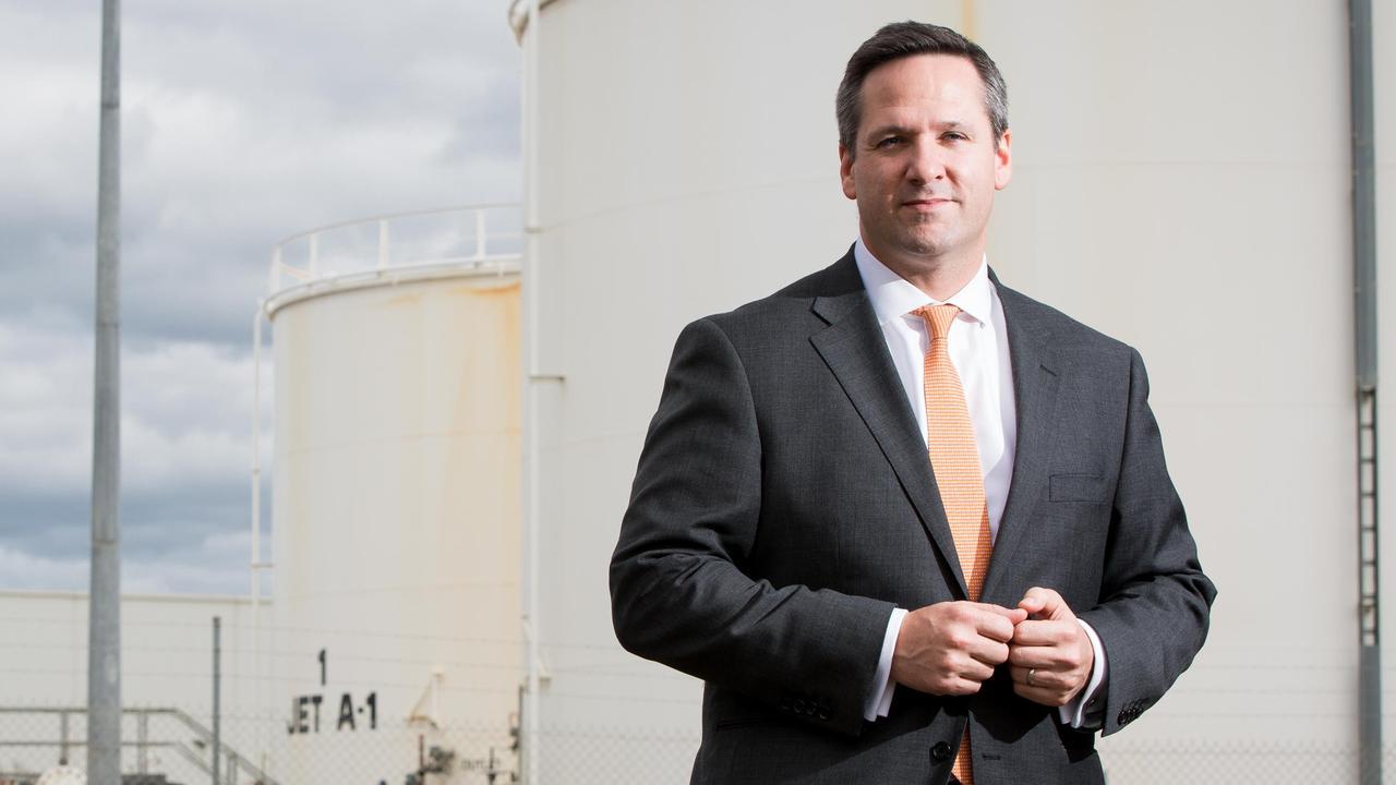 Senex Energy boss Ian Davies.