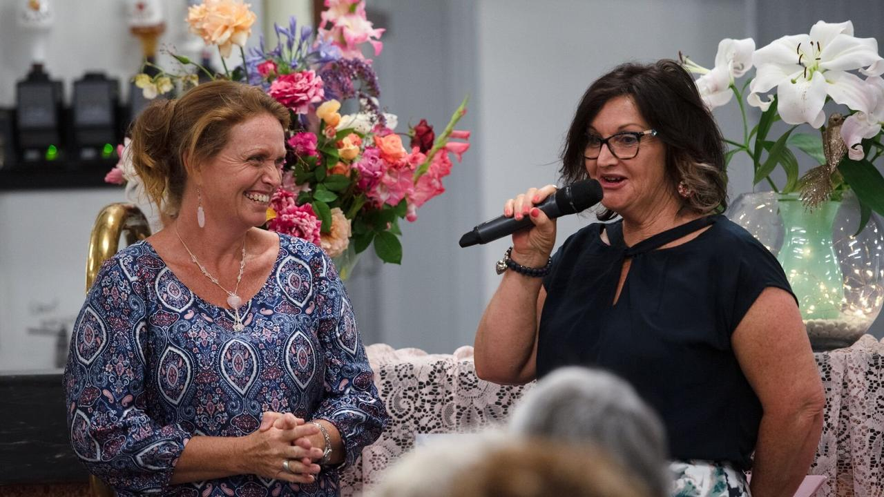 NOMINATIONS CLOSING SOON: Natalie Mann and Gayle Pott at the Mundubbera Jaycettes' annual Girls Night in 2018.