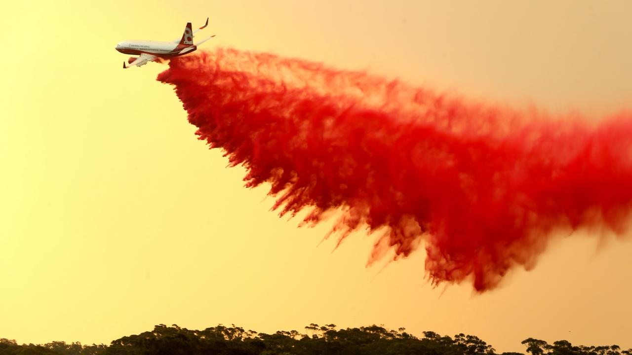 Firefighters have battled blazes across NSW. Picture Nathan Edwards.