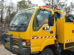 CONTAINED: Bushfire warning issued near Mirani