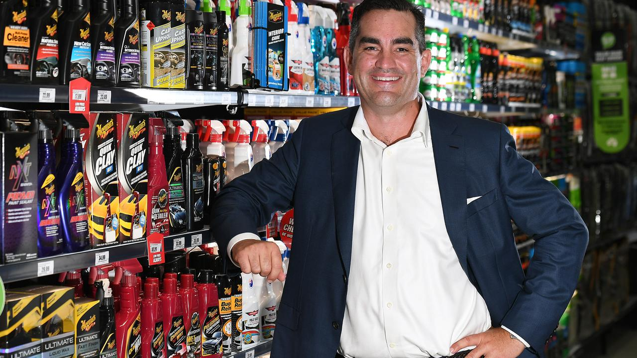 Super Retail Group CEO Anthony Heraghty. Picture: AAP inage, John Gass