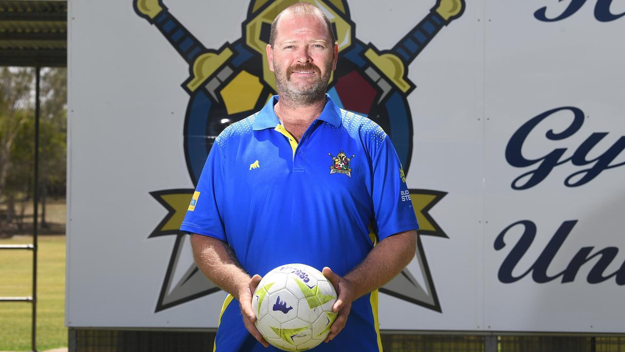 Gympie United Gladiators new president Troy Johnson