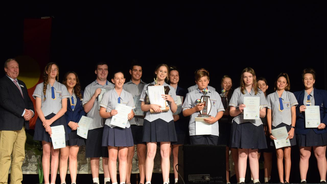 AWARD WINNERS: Miles State High School hosted their 41st annual awards night.